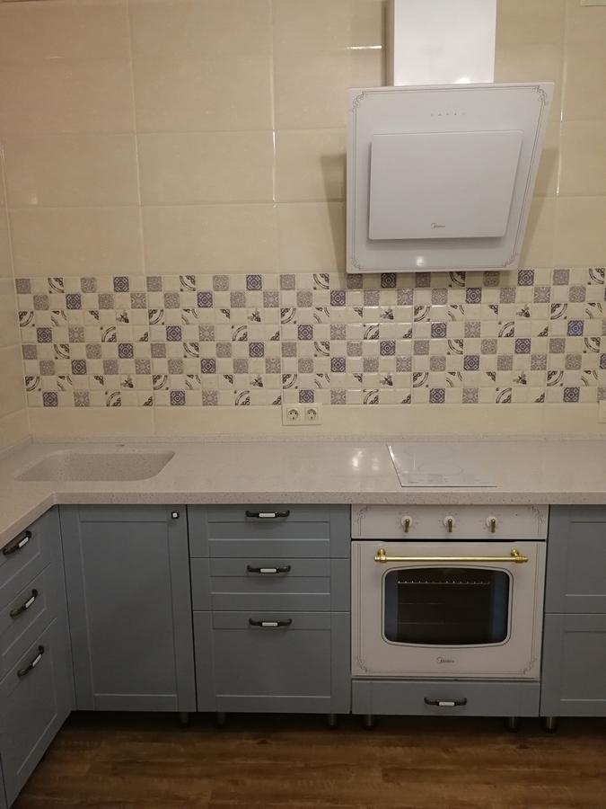 Классические кухни-Кухня МДФ в ПВХ «Модель 28»-фото4