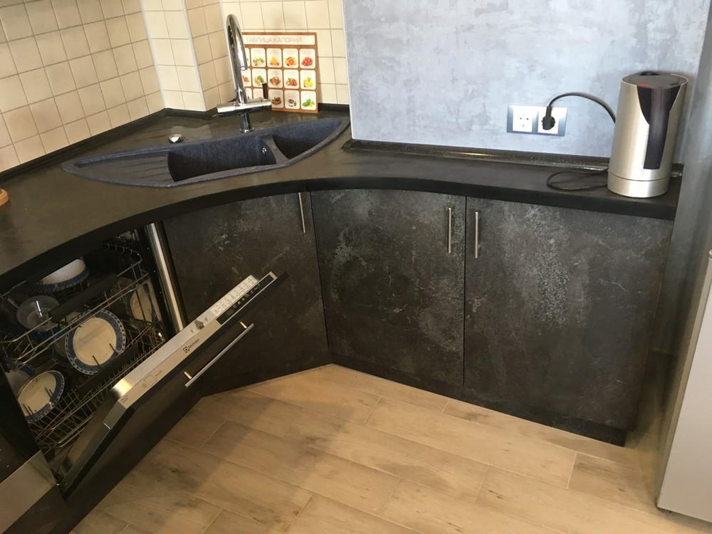 Встроенная кухня-Кухня МДФ в ПВХ «Модель 316»-фото6