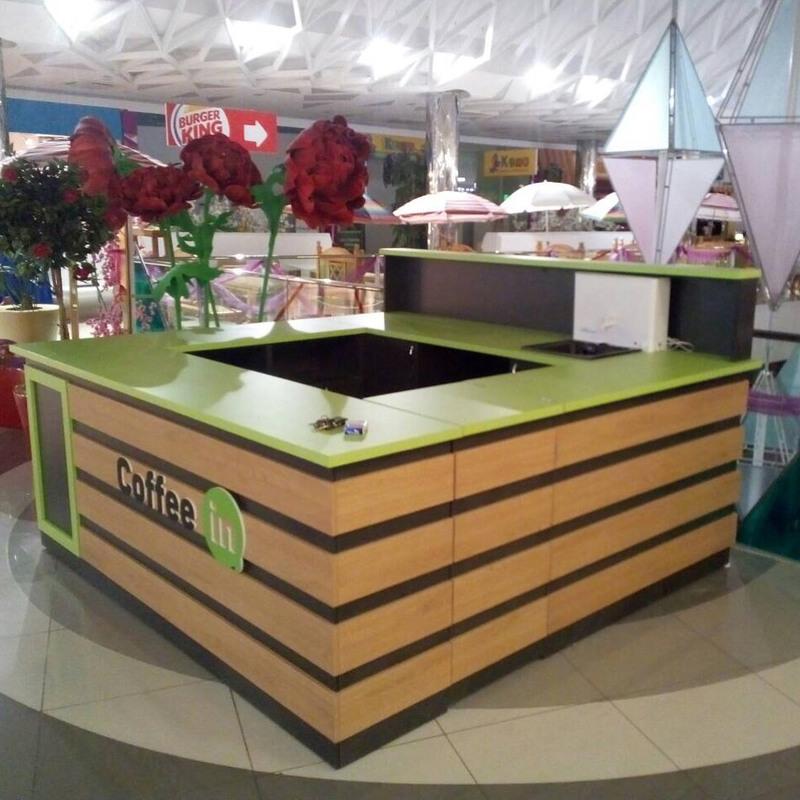 Торговая мебель-Торговый островок «Модель 234»-фото1