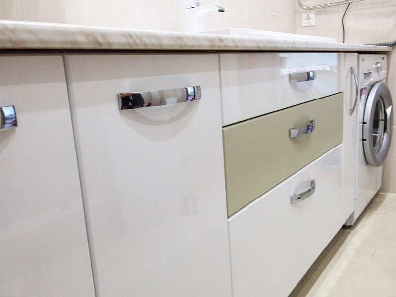 Мебель для ванной комнаты-Мебель для ванной «Модель 63»-фото5