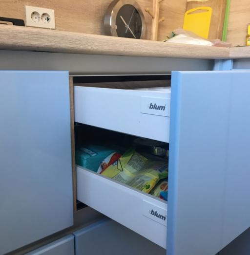 Встроенная кухня-Кухня МДФ в ПВХ «Модель 37»-фото7