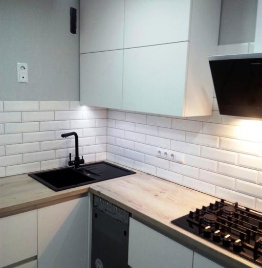 -Кухня из пластика «Модель 198»-фото24