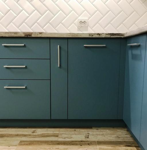 -Кухня из пластика «Модель 373»-фото21