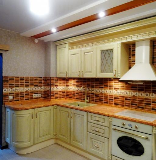 -Кухня МДФ в эмали «Модель 301»-фото23