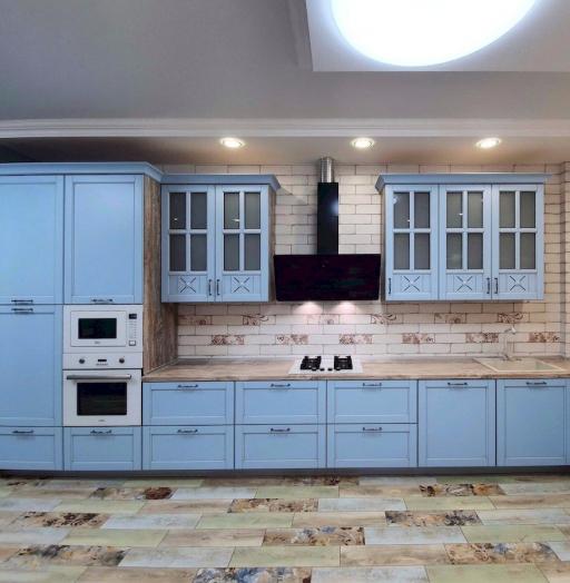-Кухня МДФ в эмали «Модель 524»-фото26