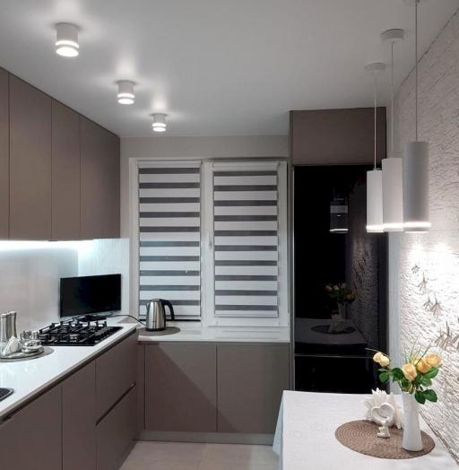 Встроенная кухня-Кухня МДФ в ПВХ «Модель 659»-фото7