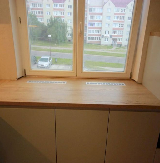 Белый кухонный гарнитур-Кухня МДФ в эмали «Модель 661»-фото8